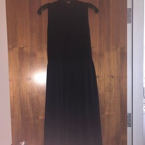 Alice and Olivia long black dress.